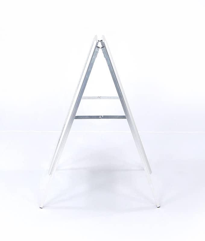 Gatebukk klassisk 50x70 klemlist aluminium fra Markedsmateriell.no