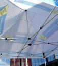 Telt messetelt popup-telt med trykk fra Markedsmateriell