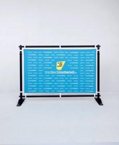 Messevegg Flex teleskop justerbar banner oppheng messeutstyr fra Markedsmateriell