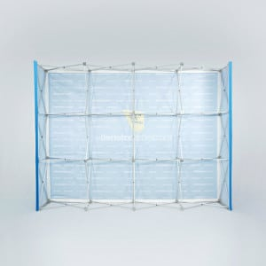 Messevegg popup 300×240 messeutstyr fra Markedsmateriell
