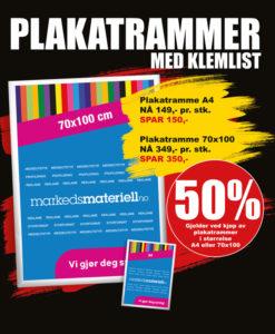 BLACK DAYS! Plakatrammer fra Markedsmateriell.no!