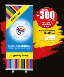 BLACK DAYS! Rollup Klassisk fra Markedsmateriell.no!