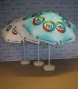 Parasoll reklameparasoll solskjerming reklameparaply fra Markedsmateriell.no