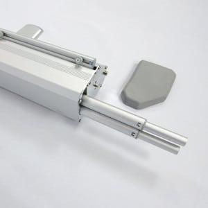 Rollup Messevegg 200×200 pop-up messeutstyr fra markedsmateriell