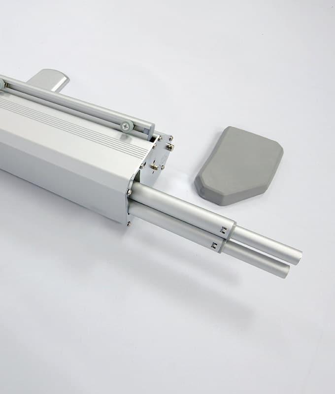 Rollup Messevegg 200x200 pop-up messeutstyr fra markedsmateriell