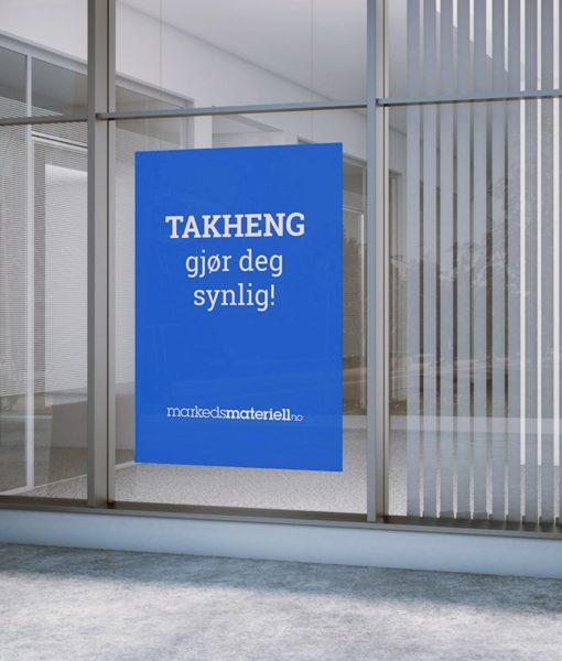 Takheng og vindusheng fra Markedsmateriell.no