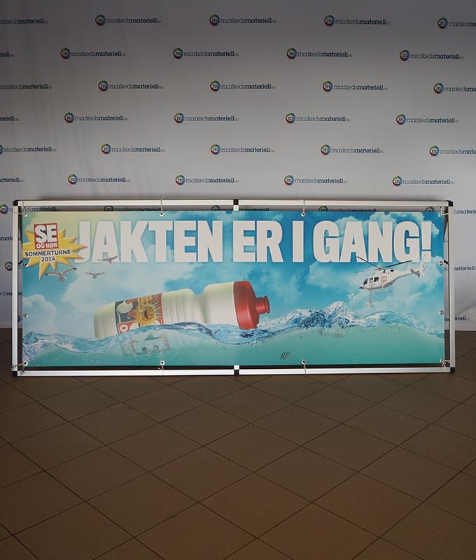 Bannerstand Arenarollup fra Markedsmateriell