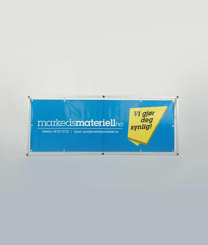 Bannerstand liggende arena-rollup fra Markedsmateriell