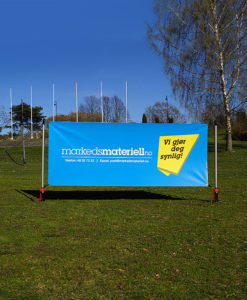 Bannerstand display stand fra Markedsmateriell
