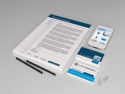 Trykksaker, bedriftsprofil, brevark, konvolutter og mer fra Markedsmateriell.no