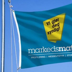 Logoflagg Reklameflagg Flagg med trykk