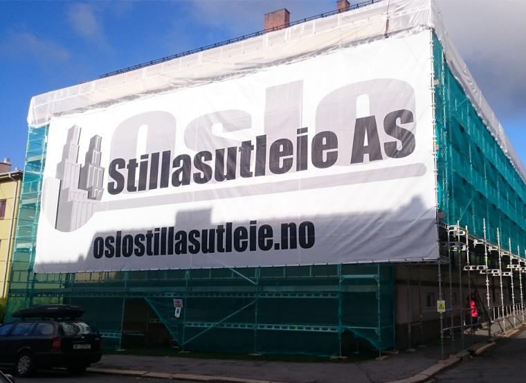 Mesh Banner Oslo Stilasutleie - Markedsmateriell