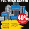 BLACK DAYS! PVC/MESH-banner fra Markedsmateriell.no!