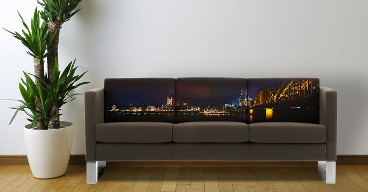 Møbler med trykk og møbler med reklame fra Markedsmateriell.no