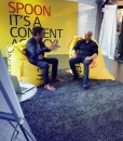 Pressevegg – Spoon intevju med Google sjefen -fotovegg fra Markedsmateriell.no