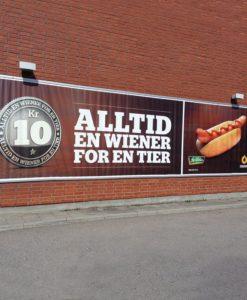 Banner storformat reklameseil fasadebanner med trykk tilbehør ekstrautstyr fester tillegsutstyr fra Markedsmateriell.no
