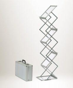 Brosjyrestativ Smart aluminium, stativ, reklamestativ, displaystativ og popup-stativ fra Markedsmateriell.no