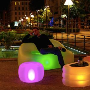 Oppblåsbare møbler reklameprodukter profilering fra Markedsmateriell.no