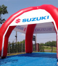 Oppblåsbare produkter med reklame logo målbue portal telt og mer fra Markedsmateriell.no