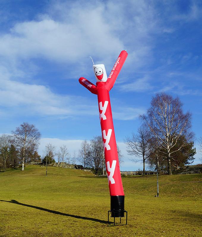 Skydancer windyman sky dancer fra markedsmateriell