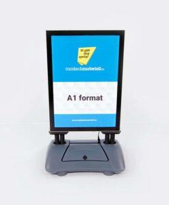 Gatebukk LED belysning A1 format norges mest lyssterke gatebukk garantert synlig markedsmateriell