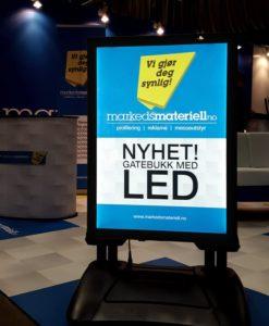 Gatebukk LED belysning fra Markedsmateriell