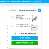 Markedsmateriell.no | Verktøy for bedrifter med enklere bestilling, volumrabatter og budsjettering.