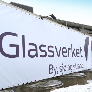 Selvaag Bolig - Bannere til Glassverket i Moss - Markedsmateriell.no