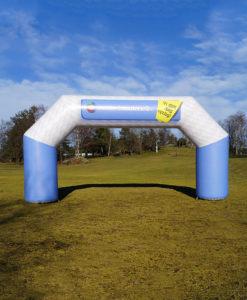 Oppblåsbar portal målbue med trykk reklame fra Markedsmateriell