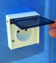 Oppblåsbar reklametelt logotelt med innebygget strøm uttak markedsmateriell