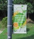 Bannerarm og stolpeflagg til bannere og flagg fra Markedsmateriell