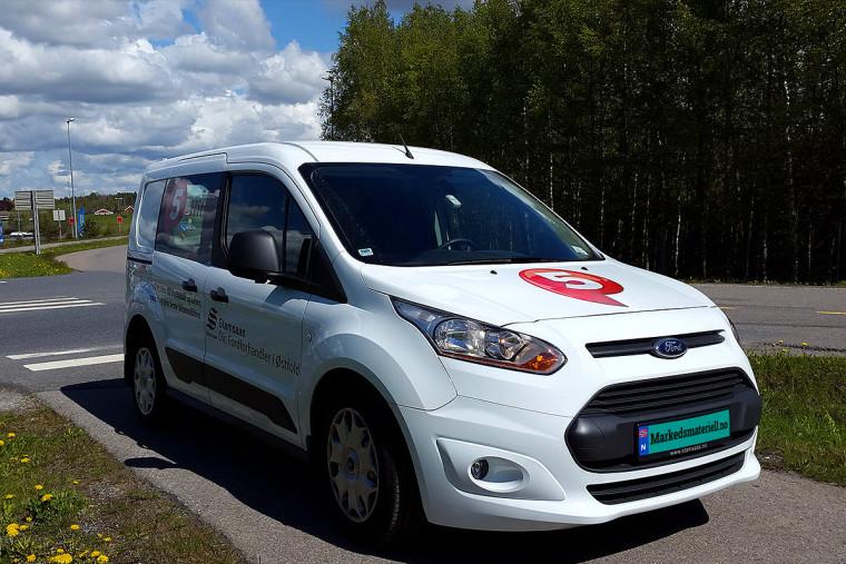 Bilfolie bilreklame foliedekor på P5 Hits fra Markedsmateriell