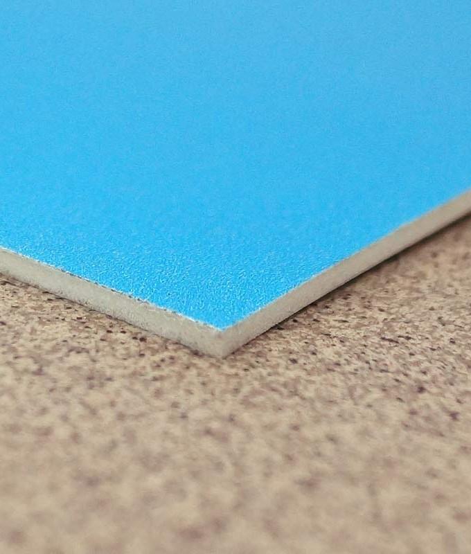 Gulvbelegg vinyl med trykk messegulv fra Markedsmateriell