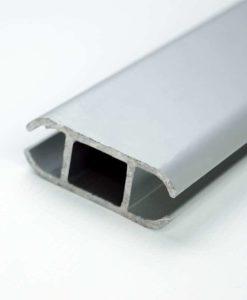 Aluminiumsprofil til kederlist for oppheng av banner fra Markedsmateriell