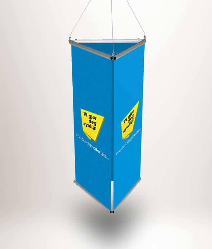 Takheng trekantet banner expo tak heng fra Markedsmateriell