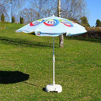 Reklame parasoll design mal