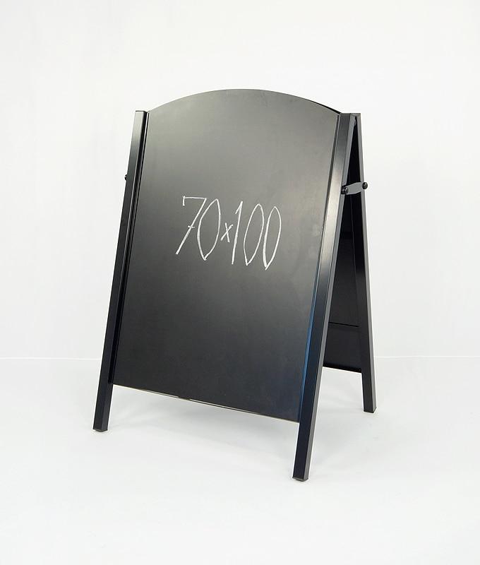 Gatebukk krittavle 70×100 tavlebukk markedsmateriell