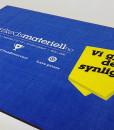 Logomatte  med HD trykk matte med logo fra Markedsmateriell