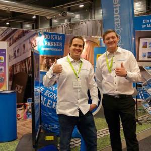 Markedsmateriell deltok på Butikkleverandør messen på Norges Varemesse 2016
