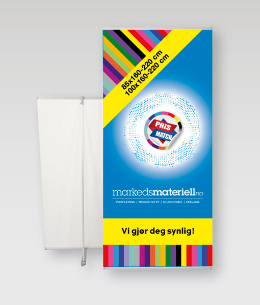 L-banner – Markedsmateriell.no