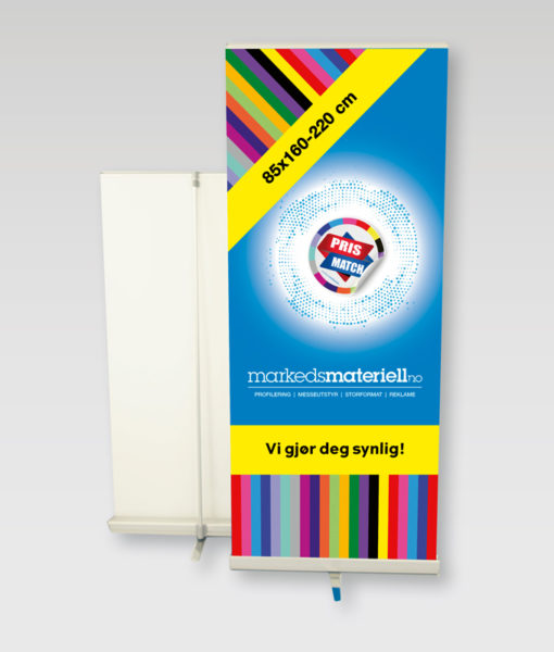 Rollup Premium – Markedsmateriell.no