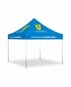 Telt med trykk 3x3 meter, reklametelt fra Markedsmateriell.no