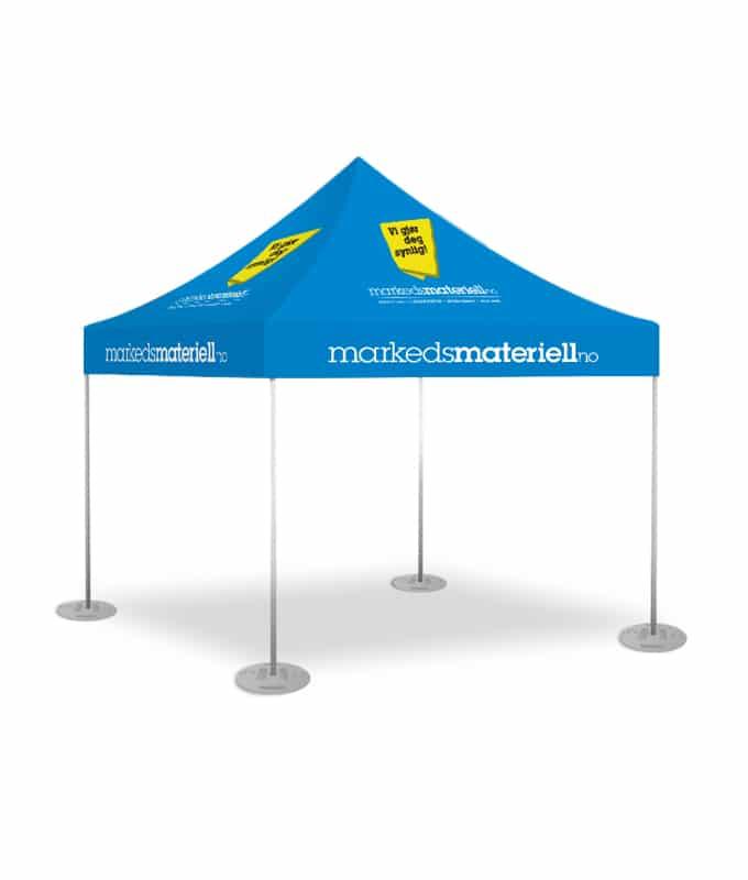 15 kg vektplate til telt fra markedsmateriell.no