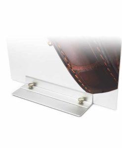 Platefot Premium stativ til plater med trykk fra Markedsmateriell.no