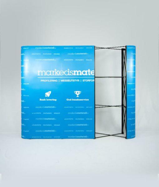 Messevegg Rett Medium - Komplett pakke fra Markedsmateriell.no
