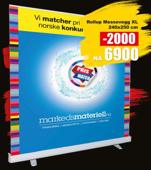 BLACK DAYS! Messevegg XL fra Markedsmateriell.no!