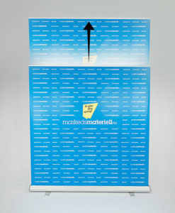 Rollup Messevegg Large 200x200-300 cm fra Markedsmateriell.no