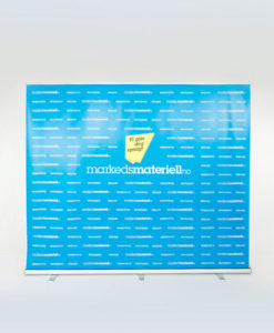 Rollup Messevegg XL 240x250cm fra Markedsmateriell.no