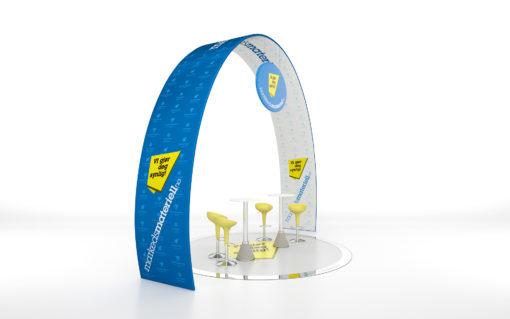 Banner portal i moderne design - fra Markedsmateriell.no