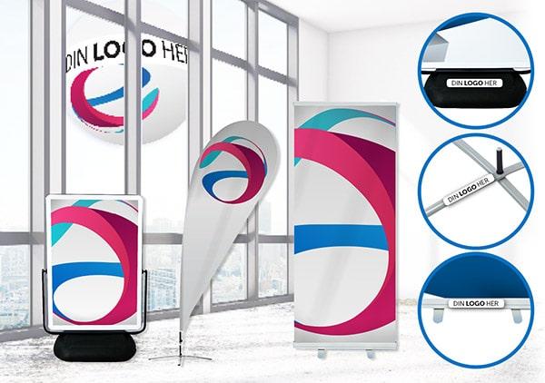 Din logo og branding på produktene